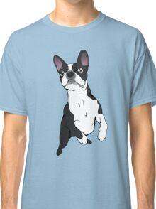 Boston Terrier Time!  Classic T-Shirt
