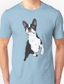 Boston Terrier Time!  Unisex T-Shirt