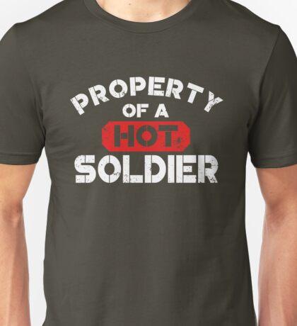 Property of a Hot Soldier Shirt Unisex T-Shirt