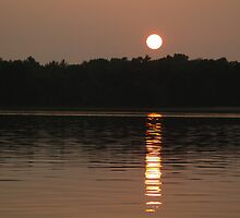 Sunset in Michigan by BarbL