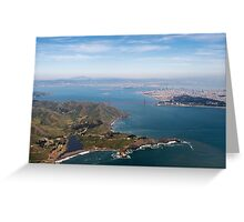 Golden Gate Bridge and the Bay Area Greeting Card