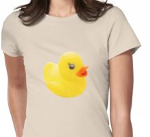 "Duck...No really, I said ""DUCK!"" Womens Fitted T-Shirt"