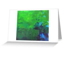 darkness is swept away Greeting Card