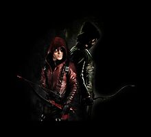 Arrow - Oliver x Roe by D. Abdel.