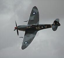 Spitfire @ Temora 2009 (Pilot: Nigel Lamb) by muz2142