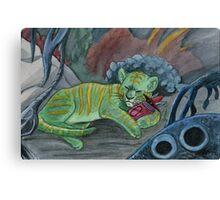 Timid Tiger Canvas Print