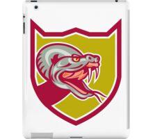 Rattle Snake Head Shield Retro iPad Case/Skin