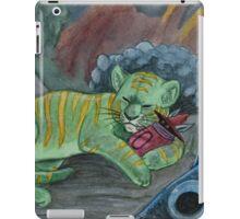 Timid Tiger iPad Case/Skin