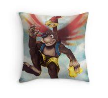 Banjo Kazooie Throw Pillow
