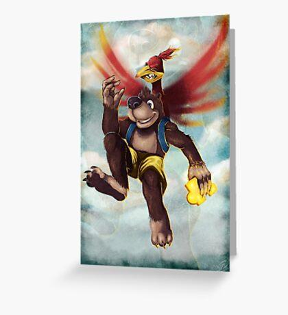 Banjo Kazooie Greeting Card