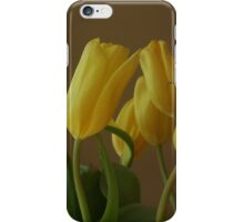 Yellow, My Favorite Tulips iPhone Case/Skin