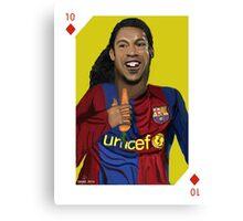 Ronaldinho o Coelho Canvas Print