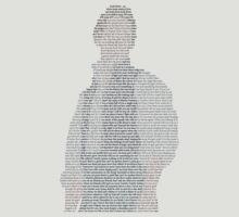 Marius - Les Miserables lyric minimalist design by Hrern1313