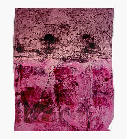 Monotype Rose Poster