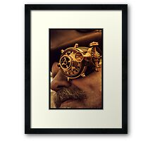 Steam punk pirate Framed Print