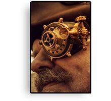 Steam punk pirate Canvas Print