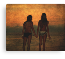 Every Second of Every Day Canvas Print