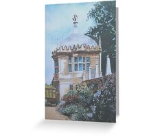 Pavilion,Montacute House, Somerset Greeting Card