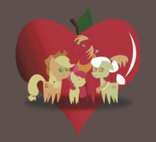 Apple Family by SuperAsianMan