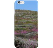 pink hills iPhone Case/Skin