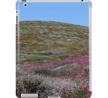 pink hills iPad Case/Skin