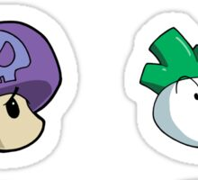 Mario and Power-ups Sticker Sheet Collection Sticker