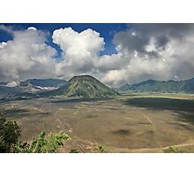 The top of Mountain Bromo Photographic Print