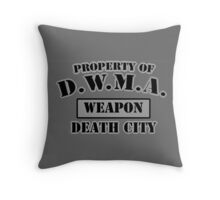 D.W.M.A. Weapon Uniform Throw Pillow