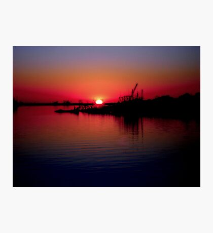 Monkey Island Sunset Photographic Print