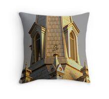 Gothic Gold Throw Pillow