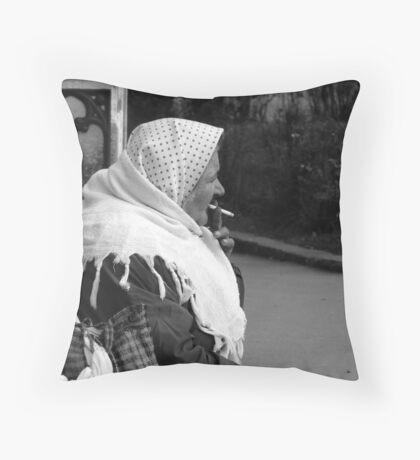 ON THE STREET Throw Pillow
