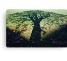 Neath the Shade of the Tree... Canvas Print