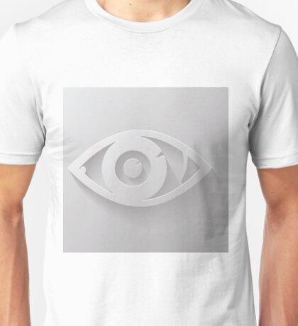 silhouette of eye Unisex T-Shirt