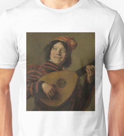 Frans Hals - The Lute Player, 1624 Unisex T-Shirt
