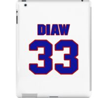 Basketball player Boris Diaw jersey 33 iPad Case/Skin