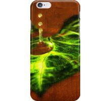 Leaf Droplet 01 iPhone Case/Skin