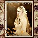 Victorian Wedding Collage by Jane Neill-Hancock