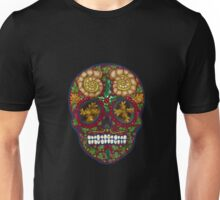 Winter skull holly king, red Unisex T-Shirt