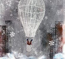 Duality traveling on a hot-air balloon by Giulia Landonio