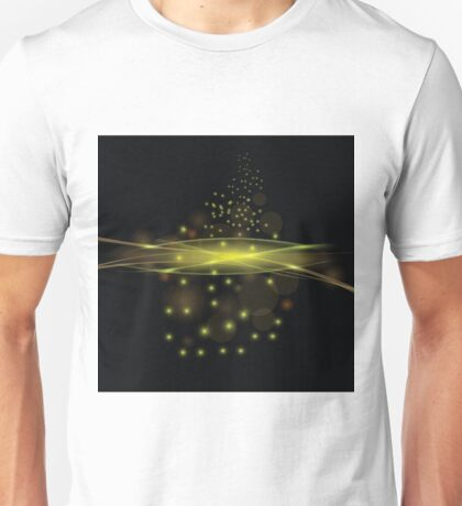 Abstract Fire Background Unisex T-Shirt