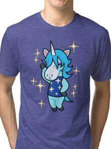 Julian of Animal Crossing Tri-blend T-Shirt