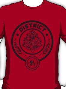 District 9 3/4 - Hunger Games/Harry Potter T-Shirt