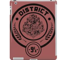 District 9 3/4 - Hunger Games/Harry Potter iPad Case/Skin