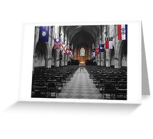 All Saints' Chapel-University of the South Greeting Card