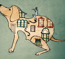 CELLO DOG by Tetsuro Hoshii