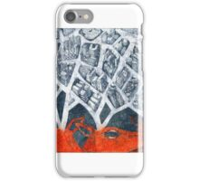 city growing out of deers' horns iPhone Case/Skin