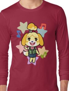 Isabelle of Animal Crossing Long Sleeve T-Shirt