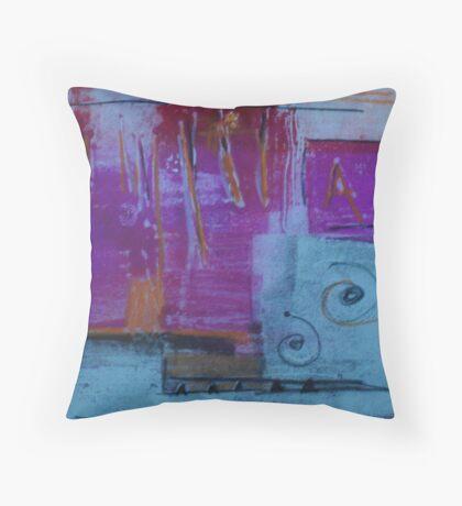 Monotype VI Throw Pillow