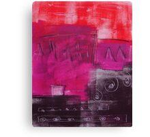 Monotype V Canvas Print