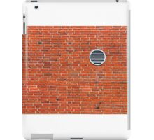 Red bricks wall iPad Case/Skin
